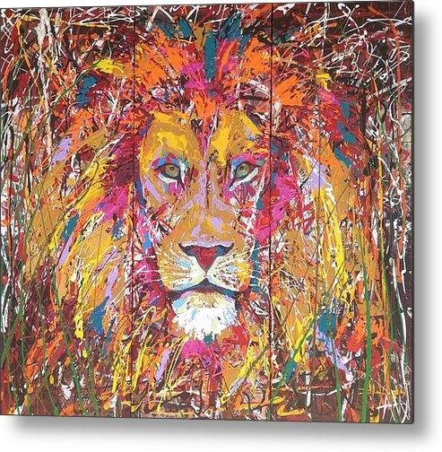 Angie Wright - Lion 4 Print