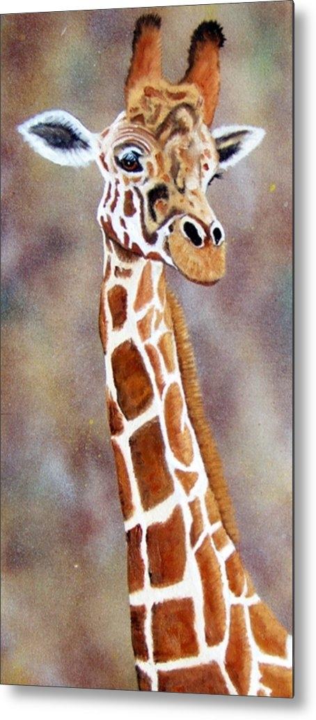 Debbie LaFrance - Gentle Giraffe Print