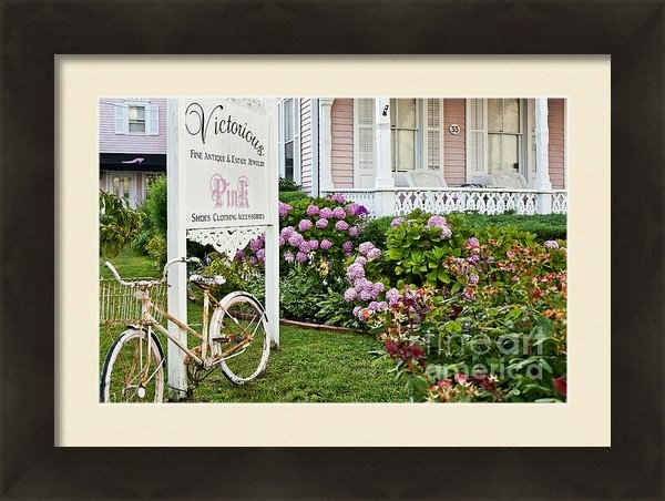 John Greim - Pink Shop Cape May Print