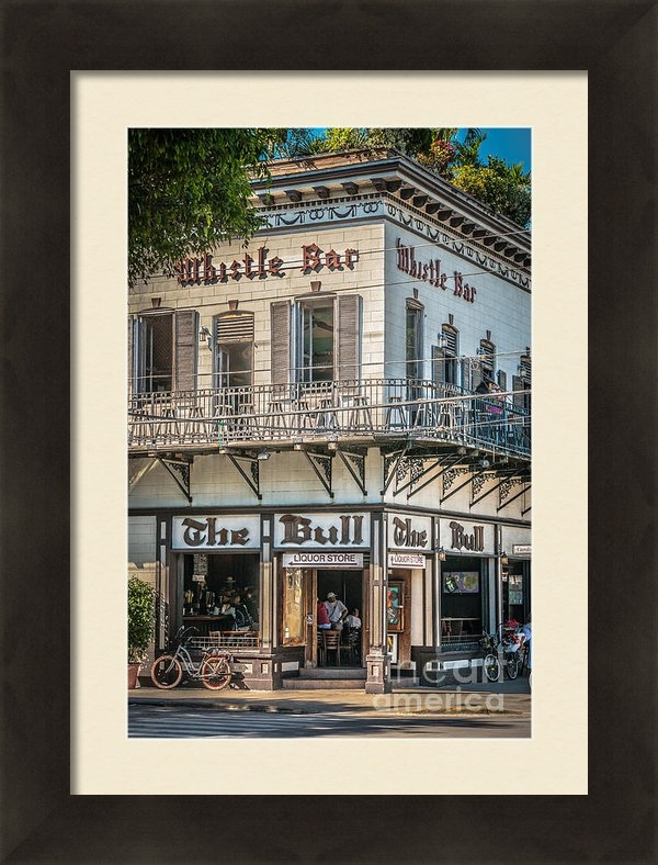 Ian Monk - Bull and Whistle Key West... Print