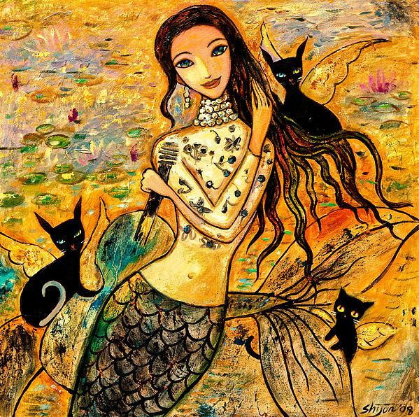 Shijun Munns - Lotus Pool Print