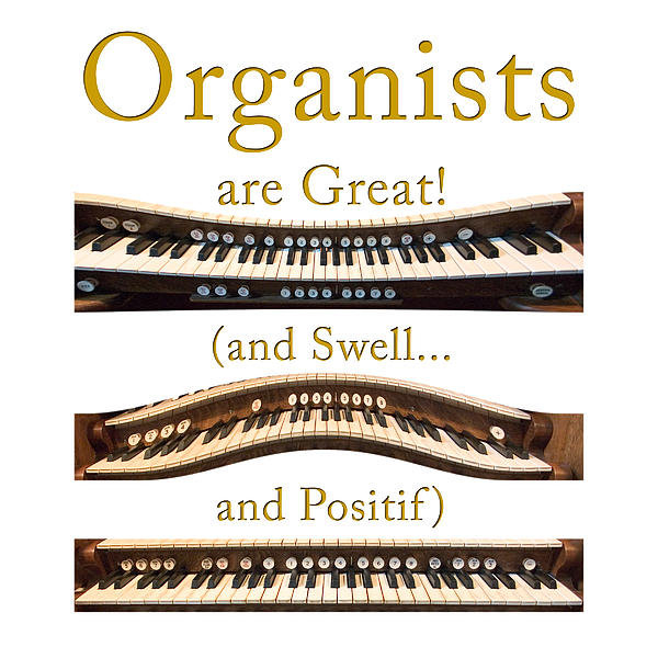 Jenny Setchell - Organists are Great 2 Print