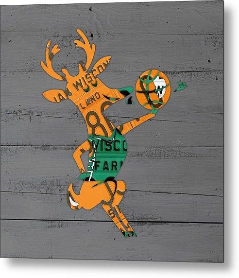 Design Turnpike - Milwaukee Bucks Basketbal... Print
