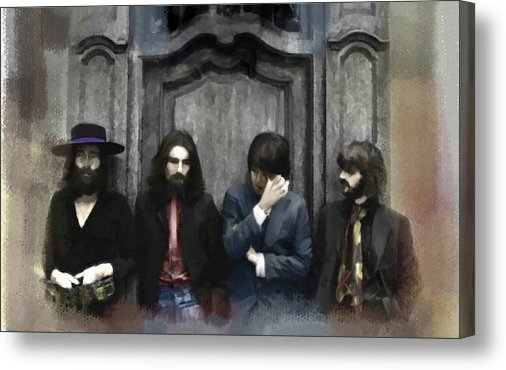 Iconic Images Art Gallery David Pucciarelli - Discontent  The Beatles Print