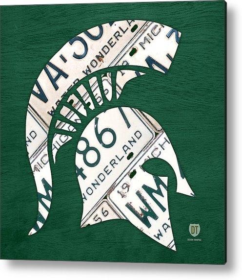 Design Turnpike - Michigan State Spartans S... Print