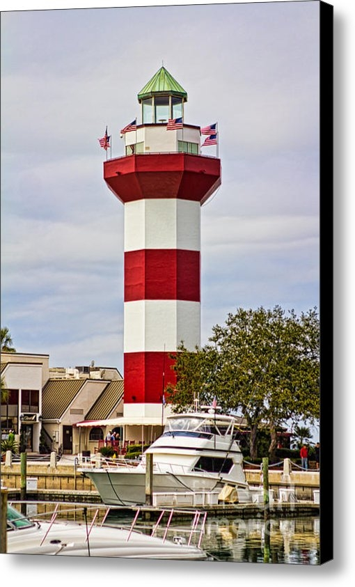 Kelly Carey - Harbour Town Lighthouse Print