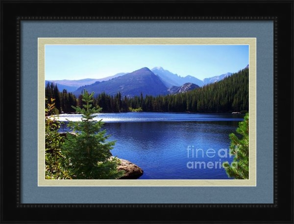 Terril Heilman - Morning At Bear Lake In R... Print