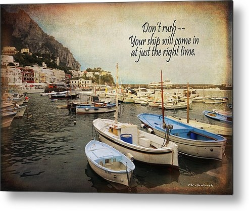 TK Goforth - Your Ship Will Come In Print