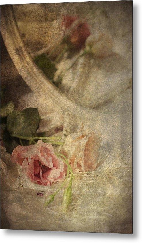Ethiriel  Photography - Closeup Of flowers In Mir... Print