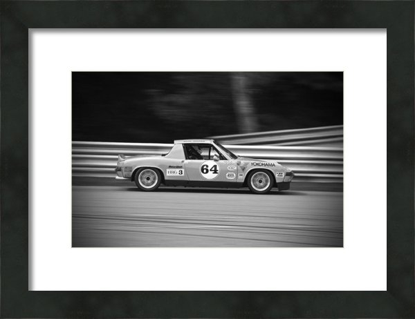 Eugene Kowalski - Porsche in Black and Whit... Print
