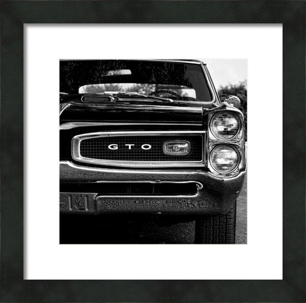 Gordon Dean II - 1966 Pontiac GTO Print