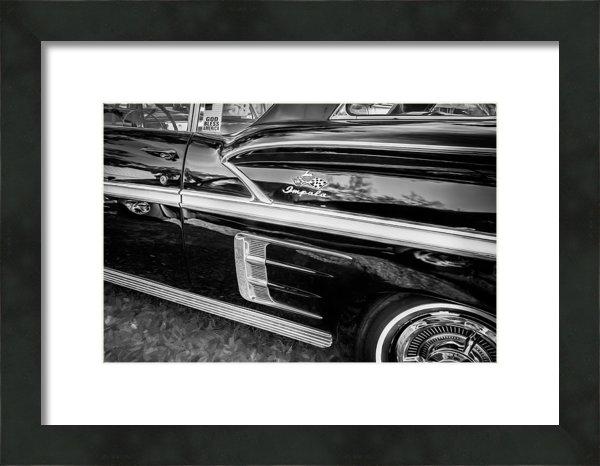 Rich Franco - 1958 Chevrolet Bel Air Im... Print