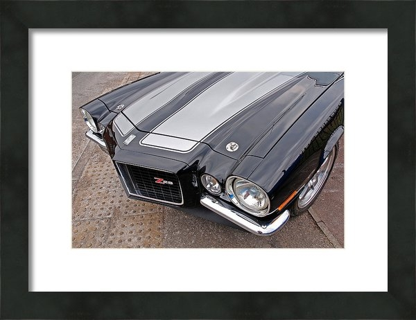Gill Billington - 71 Camaro Z28 Print