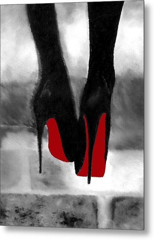 Rebecca Jenkins - Louboutin At Midnight Bla... Print