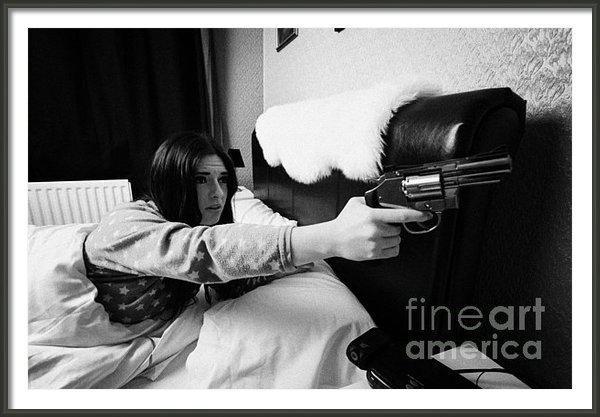 Joe Fox - Early Twenties Woman Frig... Print
