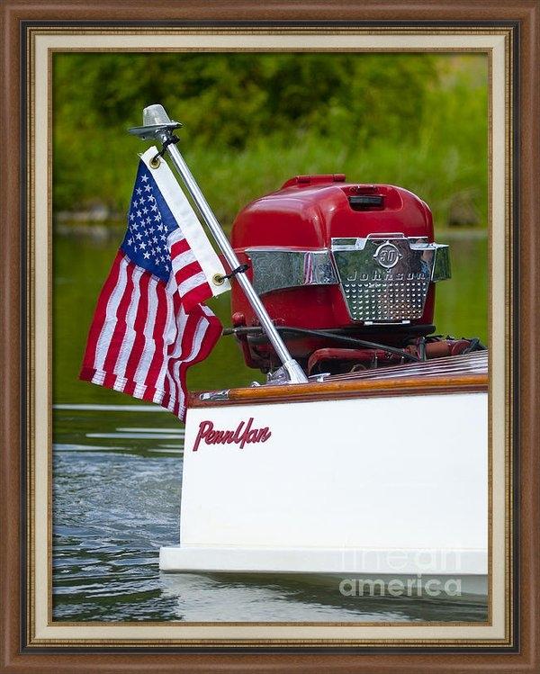 Roger Bailey - Penn Yan Boat Print