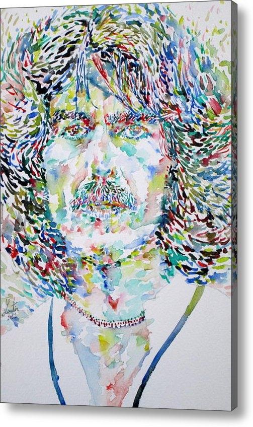 Fabrizio Cassetta - George Harrison Portrait.... Print