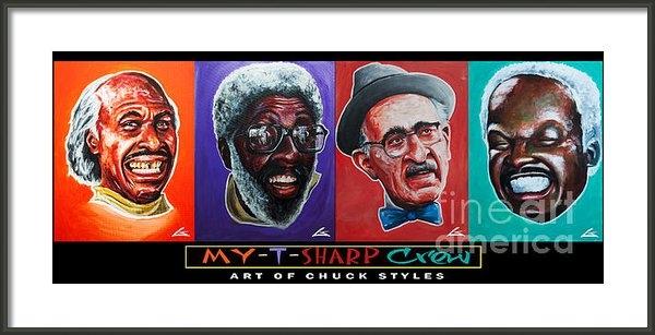 Chuck Styles - My-t-sharp Crew Print