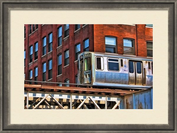 Christopher Arndt - Chicago El and Warehouse Print