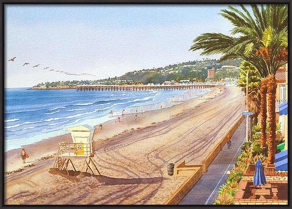 Mary Helmreich - Mission Beach San Diego Print