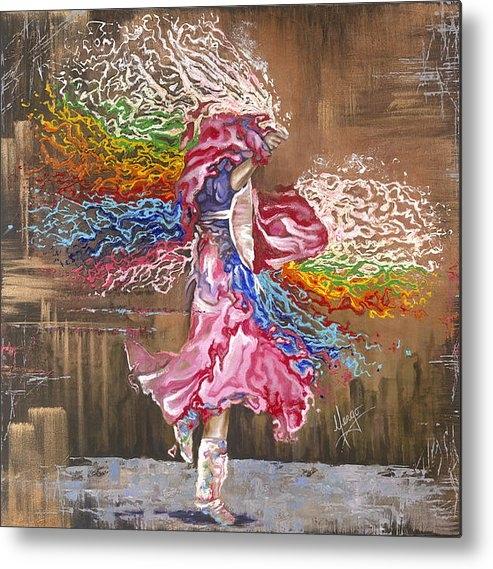 Karina Llergo Salto - Dance through the color o... Print