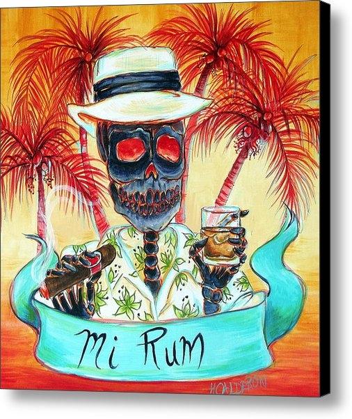 Heather Calderon - Mi Rum Print