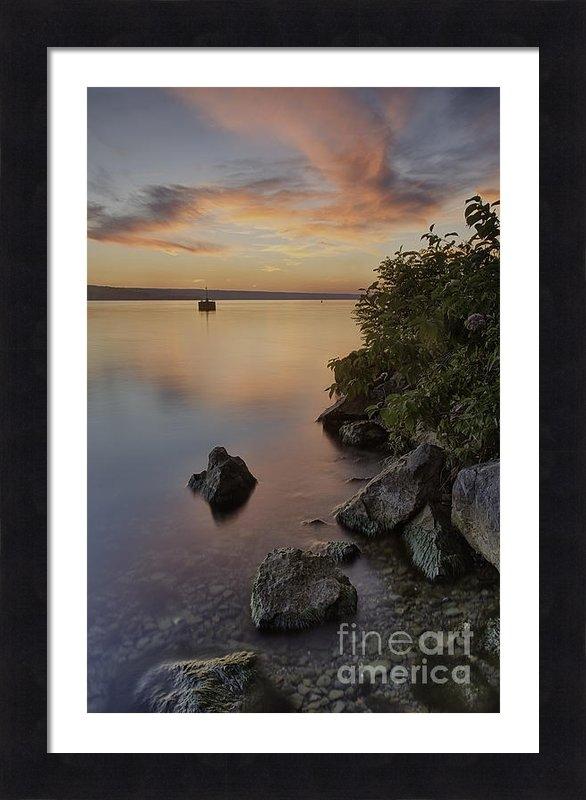 Michele Steffey - Cayuga Sunset I Print