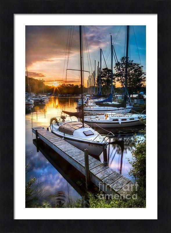Michele Steffey - Marina Sunrise Print