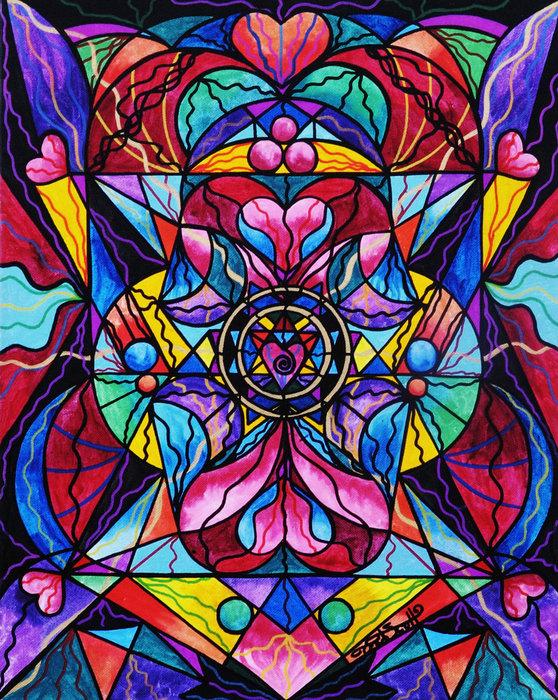 Teal Eye  Print Store - Blue Ray Healing Print