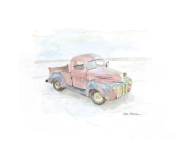 Joan Sharron - My Favorite Truck Print
