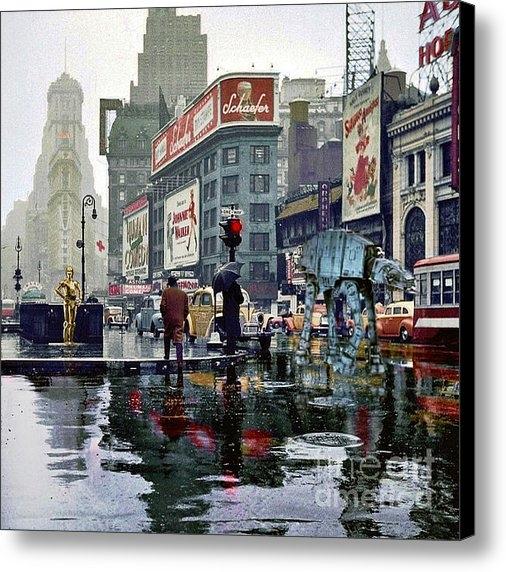 Helge - Times Square 1943 reloade... Print