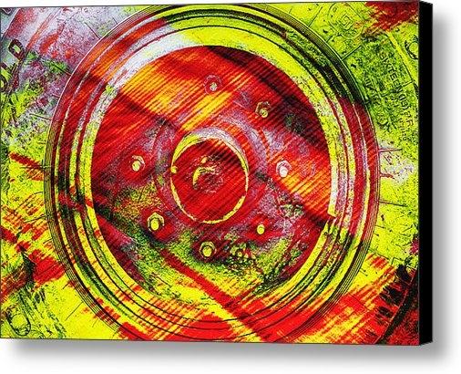 Prakash Ghai - Geometric Colors  Print