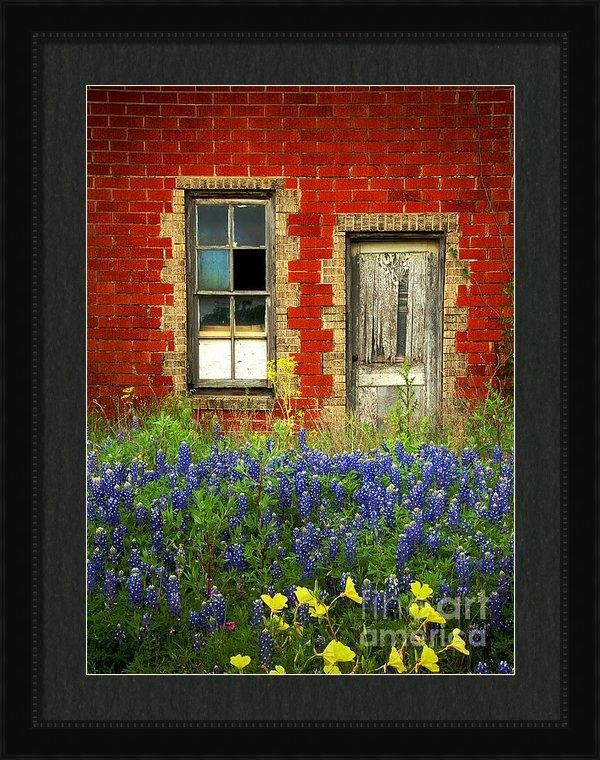 Jon Holiday - Beauty and the Door - Tex... Print