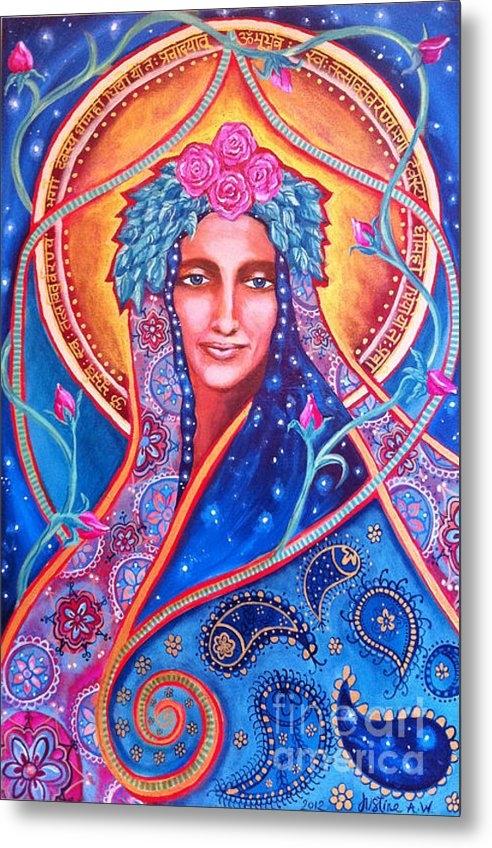 Justine Aldersey-Williams - Goddess Shakti Creates Print