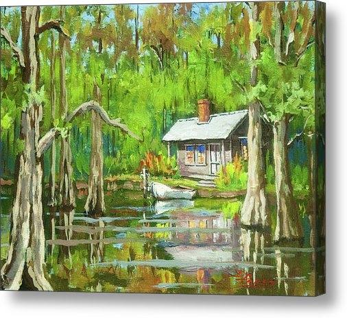 Dianne Parks - On the Bayou Print