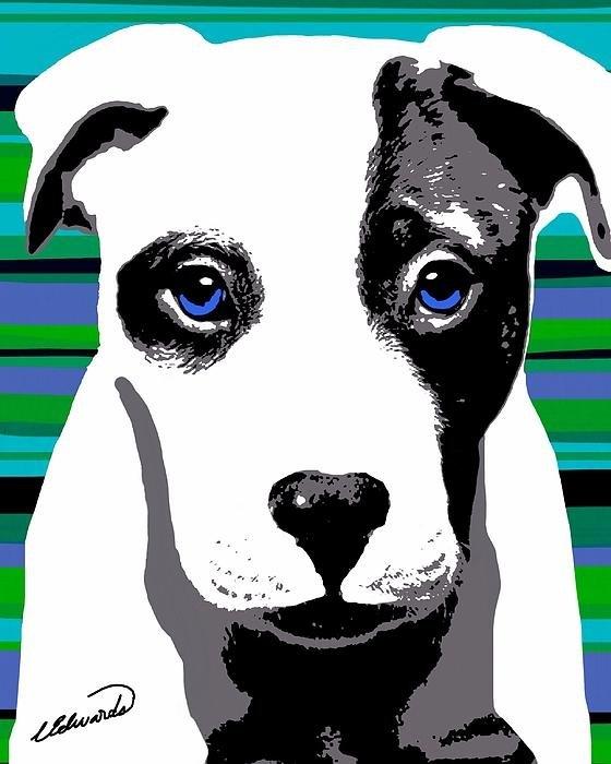 Cindy Edwards - Blue Eyed Bully Print