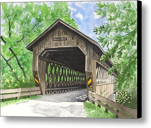 Laurie Anderson - State Road Bridge Print