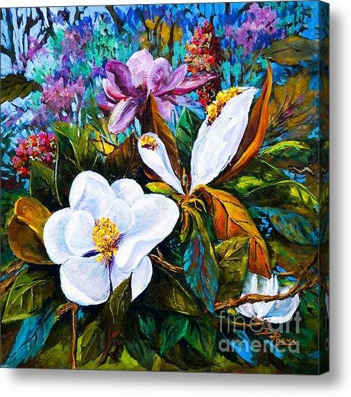 Dianne Parks - Magnolia Blooms Print