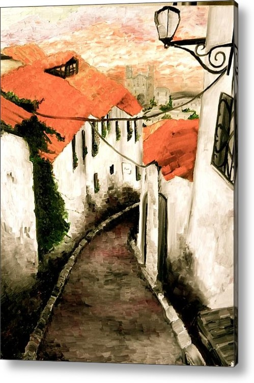 Liz Young - Old Town in Cusco Print