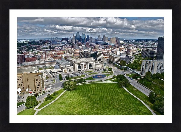 Devin Botkins - Kansas City Skyline Print