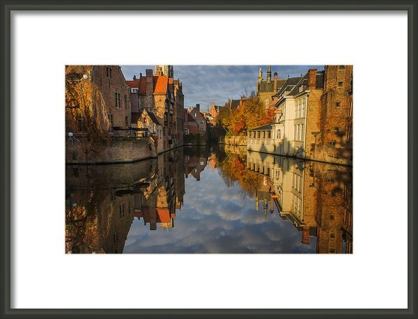 Chris Fletcher - Reflections of Bruges Print