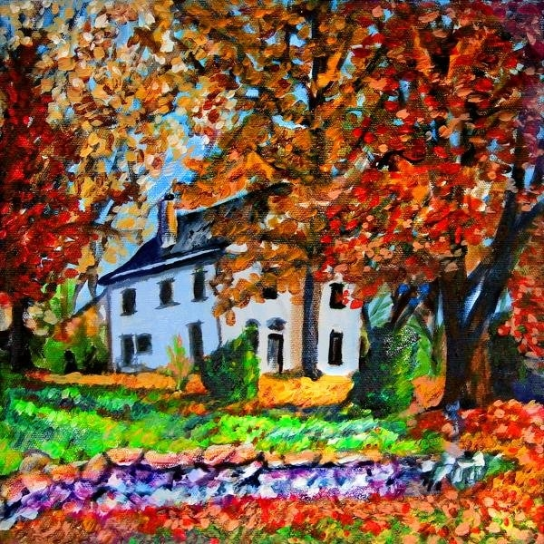 Laura Heggestad - Autumn Farmhouse Print