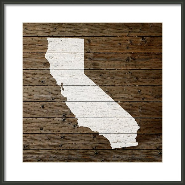 Design Turnpike - Map of California State O... Print