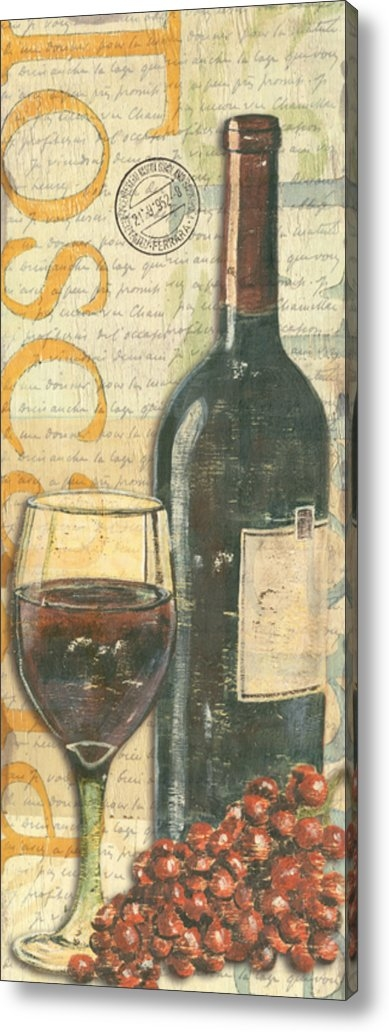 Debbie DeWitt - Italian Wine and Grapes Print