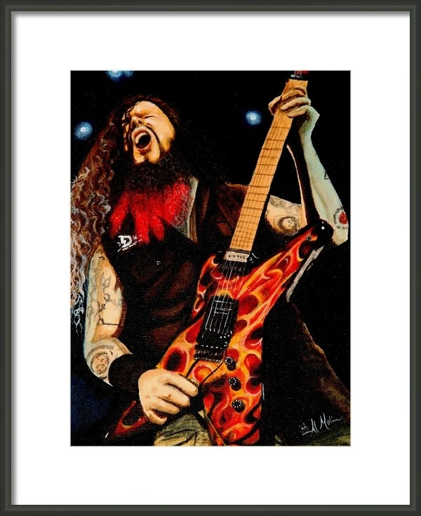 Al  Molina - Dimebag at his best Print