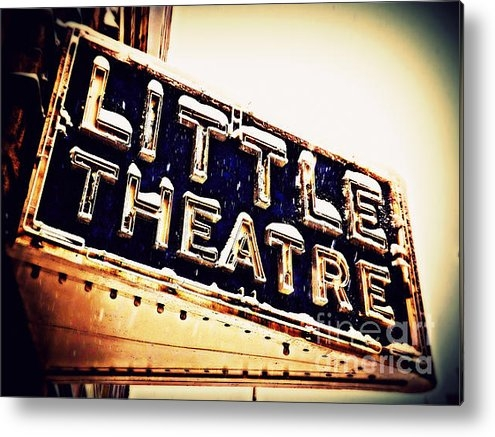 James Aiken - Little Theatre Retro Print