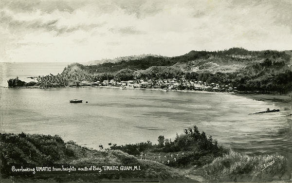 eGuam Photo - Overlooking Umatic  Print