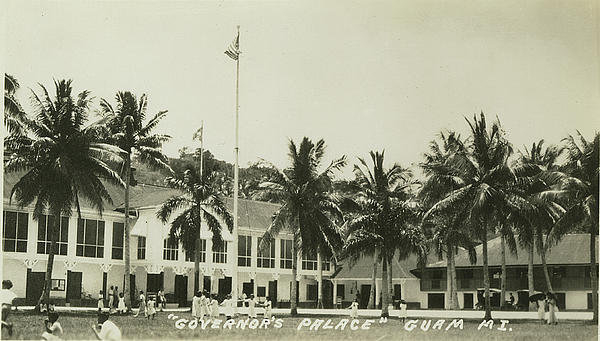 eGuam Photo - Governors Palace Guam Print