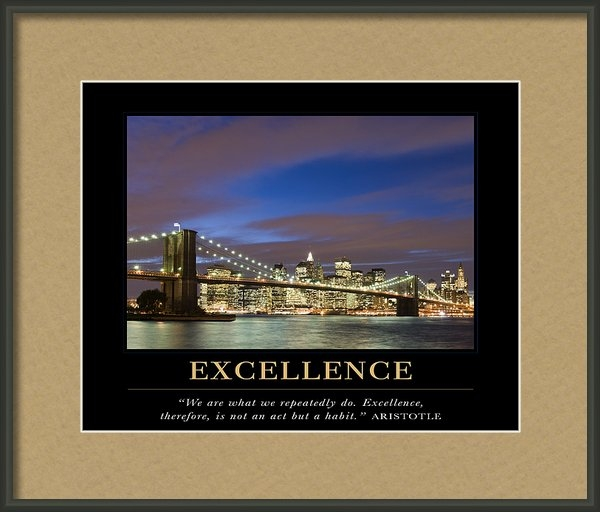 David Simchock - Excellence Motivational Q... Print