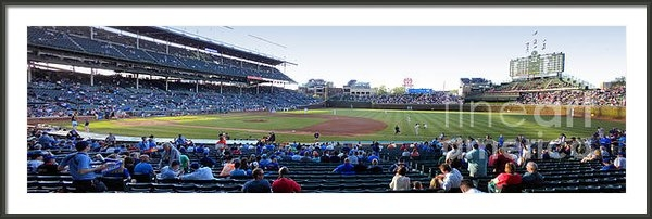 Thomas Woolworth - Chicago Cubs PreGame Time... Print
